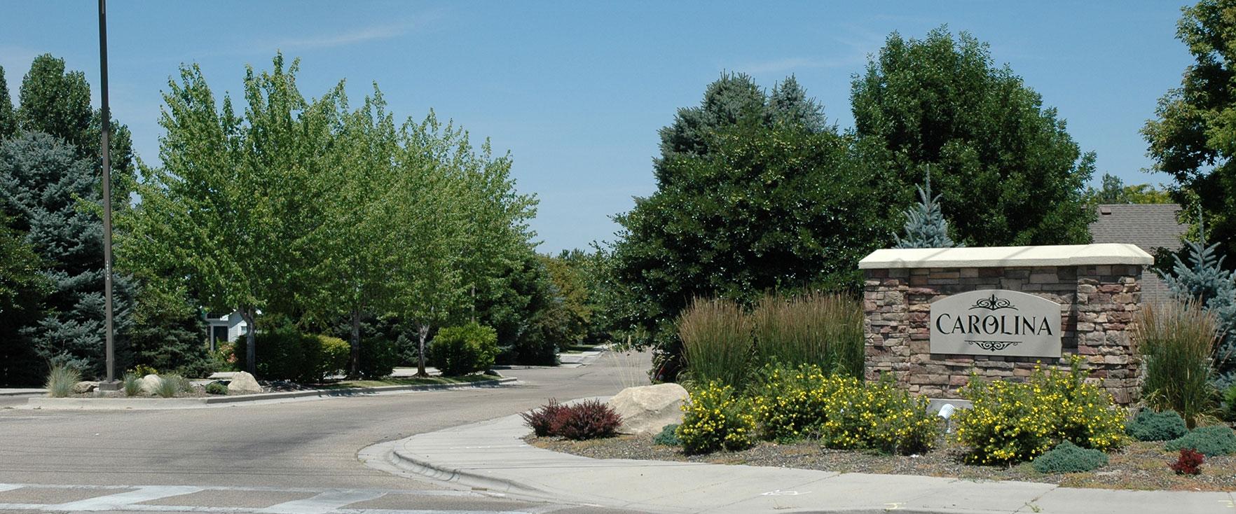 Carolina Subdivision Boise, ID   Charleston Place Boise, ID   HOA