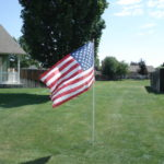 Charleston Place Hoa American Flag